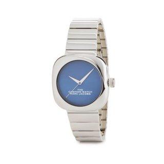 マークジェイコブス/Marc Jacobs/腕時計/レディース/M8000732/ザ クッション ウォッチ/ブルー×シルバー