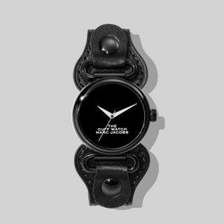 マークジェイコブス/Marc Jacobs/腕時計/レディース/M8000731-001/ザ カフ ウォッチ/ブラック×ブラック
