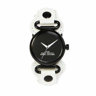 マークジェイコブス/Marc Jacobs/腕時計/レディース/M8000731/ザ カフ ウォッチ/ブラック×ホワイト
