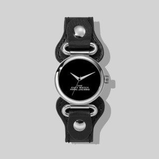 マークジェイコブス/Marc Jacobs/腕時計/レディース/M8000729-004/ザ カフ ウォッチ/ブラック×ブラック/シルバー