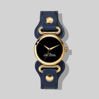 マークジェイコブス/Marc Jacobs/腕時計/レディース/M8000729-412/ザ カフ ウォッチ/ブラック×ネイビー