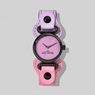 マークジェイコブス/Marc Jacobs/腕時計/レディース/M8000730-511/ザ カフ ウォッチ/パープル×ピンク
