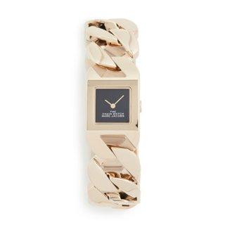 マークジェイコブス/Marc Jacobs/腕時計/レディース/M8000735/ザ チェーン ウォッチ/ブラック×ゴールド