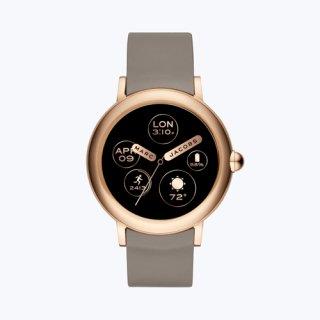 マークジェイコブス/Marc Jacobs/腕時計/レディース/M8000614/ライリー タッチ スクリーン 44/スマートウォッチ/ベージュ