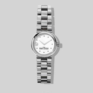マークジェイコブス/Marc Jacobs/腕時計/レディース/M8000739/ザ ラウンド ウォッチ/シルバー