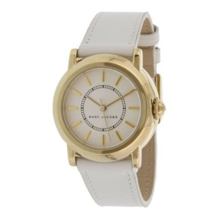 マークジェイコブス/Marc Jacobs/腕時計/レディース/MJ1449/コートニー/ホワイト×ブラウンレザー