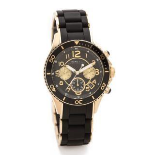 マークジェイコブス メンズ腕時計 ロック MBM2598 ブラック×ゴールド