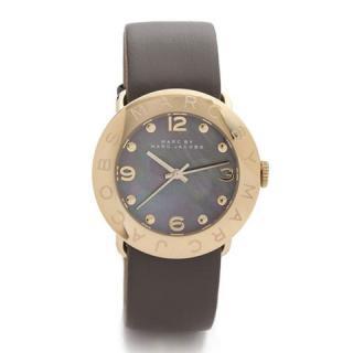 マークバイマークジェイコブス 時計/エイミー/MBM1287/グレー×ゴールド