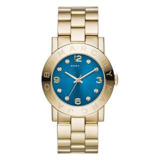 マークバイマークジェイコブス 時計/エイミー/MBM3303/ブルー×ゴールド