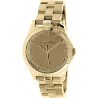 マークジェイコブス 時計 ヘンリー MBM3211 ゴールド×ゴールド
