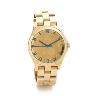 マークジェイコブス 時計 ヘンリー MBM3267 水玉×ゴールド