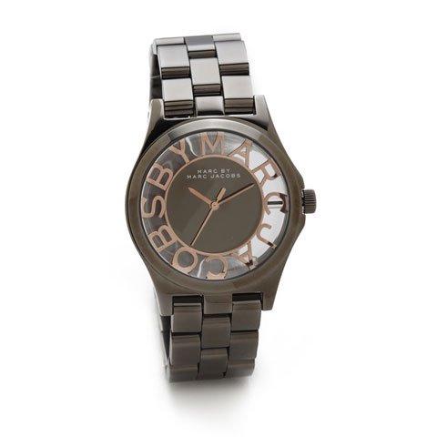 マークジェイコブス 時計/ヘンリースケルトン/MBM3254/ピンクゴールド×ガンメタル