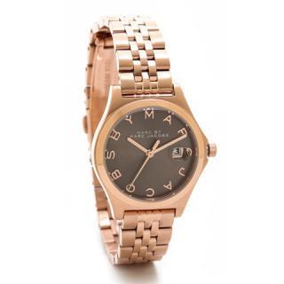 マークジェイコブス 時計 ザ・スリム MBM3352 ブラウン×ピンクゴールド