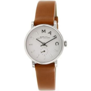 マークバイマークジェイコブス 時計/ベイカー/MBM1270/ホワイト×モカビスクレザー