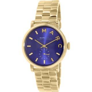 マークバイマークジェイコブス 時計/ベイカー/MBM3343/ミネラルブルー×ゴールド