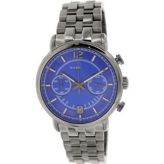マークジェイコブス メンズ腕時計 ファーガス MBM5064 ブルー×ガンメタル