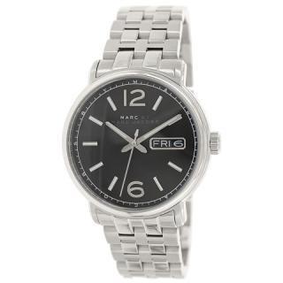 マークジェイコブスのメンズ腕時計 ファーガス MBM5075 ブラック×シルバー