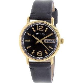 マークジェイコブス レディース腕時計 ファーガス MBM8651 ブラック×ゴールド