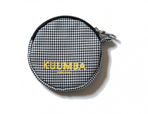HOUNDSTOOTH COIN CASE