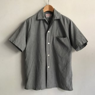 60〜70's Cotton Short Sleeve Shirt Hollywood