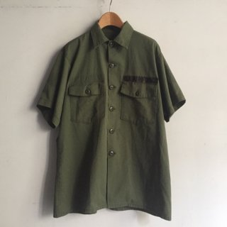 80s' U.S.Military Short sleeve Shirt