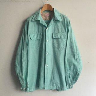 5〜60s' Cotton Shirt Pennleigh