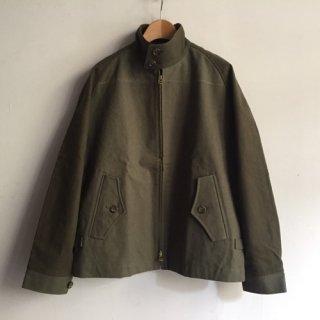 Vintage Military Material Drizzler Jacket 狙撃部隊防水生地