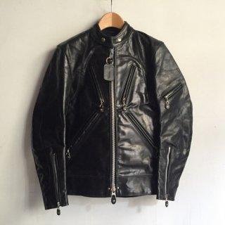 00s' DEAD STOCK VANSON Leather Riders Jacket