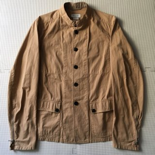 Dries Van Noten Cotton Stand Callar Jacket