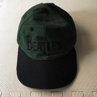 THE BEATLES Old Cap 緑×黒