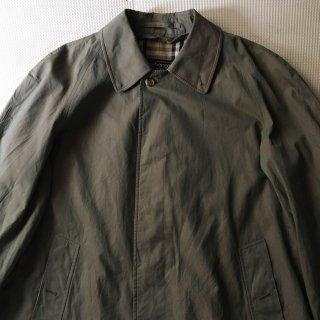 80年代 Burberry Bal-Collar Coat 玉虫色 50 SHORT