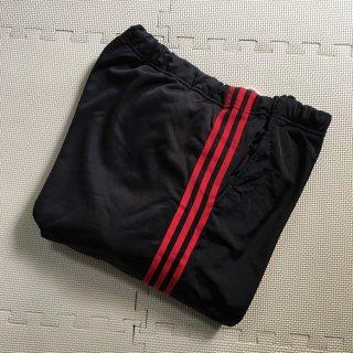 90年代 Old Track Pants 黒×赤