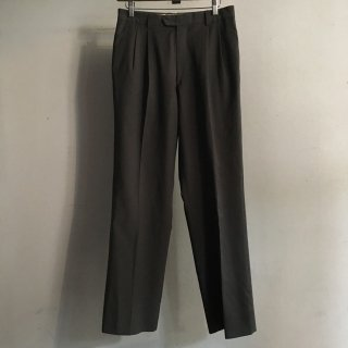 90年代 Wool Tuck Slacks Pants MADE IN ITALY