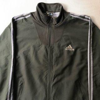 2006年代 adidas Track Jacket オリーブ パフォーマンスロゴ L