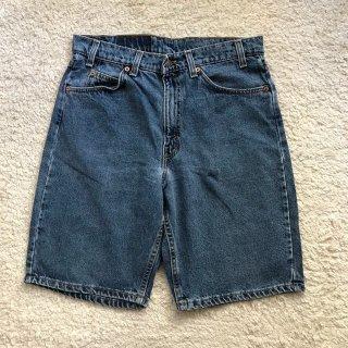 90年代 550 RELAXED FIT Denim Short Pants W32 MADE IN USA