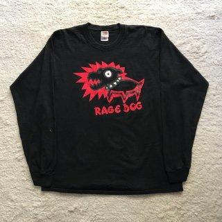 2000年代 FRUTT OF THE LOOM プリント ロンT XL 黒