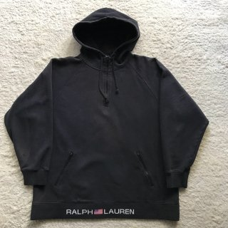 90年代 RALPH LAUREN POLO SPORT Harf-Zip Sweat Parka L MADE IN USA