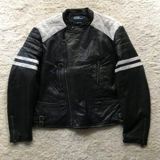 1990~00's RalphLauren Sheepskin UK Type Riders Made in Italy.