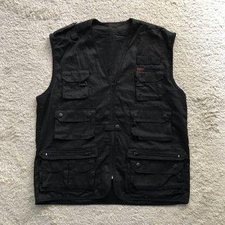1990s Photographer Vest BLACK