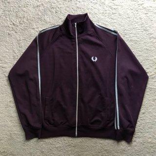 90年代 Fred Perry Track Jacket Purple サイズ L MADE IN PORTUGAL
