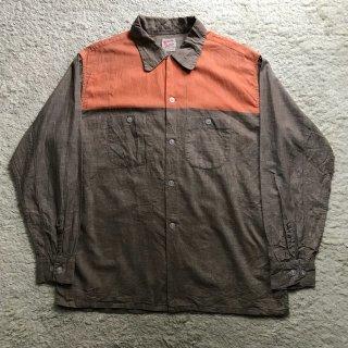 1960s Cotton Switch Shirt  カラフルネップ入り