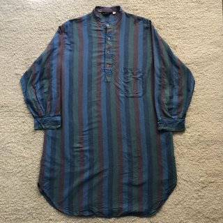 1980s Cotton Pullover Long Shirt MADE IN ENGLAND