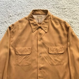 1950s McGREGOR Rayon Shirt XL MADE IN USA