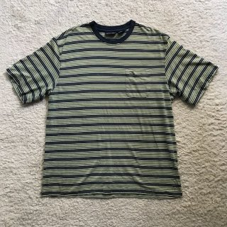 90年代 PURITAN S/S ボーダー Tシャツ XL