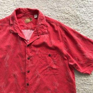 00年代 Hawaiian Shirt Silk 70%