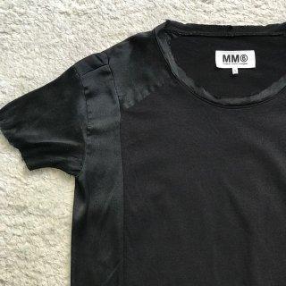 2000年代 Maison Margiela ⑥ サテン×コットン Tシャツ トルコ製
