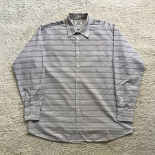 HERMES Cotton Shirt MADE IN FRANCE 43-17