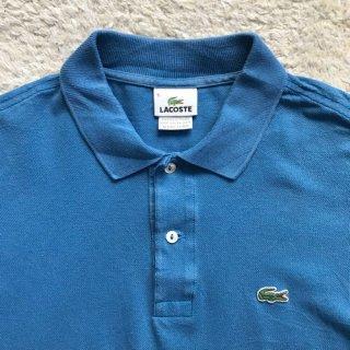 90年代 LACOSTE  Polo Shirt スカイブルー 5