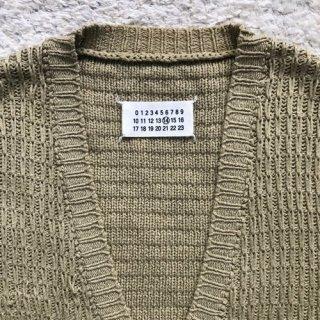 00年代 Martin Margiela 14 Cotton Knit Vest