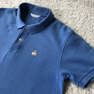 90's BrooksBrothers Polo Shirt / Made in USA. / skyblue color